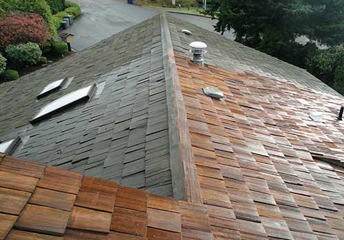 cedar roof cleaning Maple Ridge