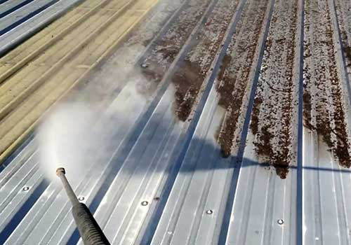 metal roof cleaning Vancouver BC